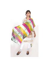 Veera Paridhaan Georgette Printed Womens Dupatta (VP00023), yellow