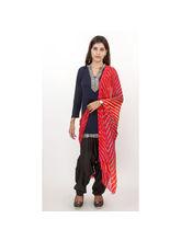 Veera Paridhaan Georgette Printed Womens Dupatta (VP00019), red