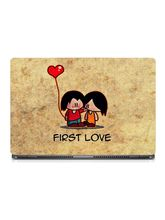 Skin Yard First Love Laptop Skin With Laptop Sleeve, 14.1 inch