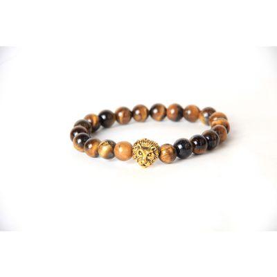 Tiger - Lion, as per picture, semi precious stones