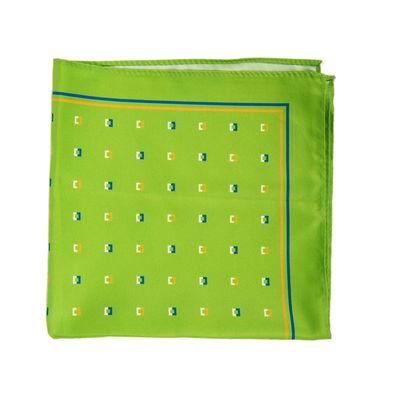 Green Revolution, green, silk blend