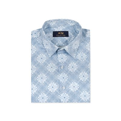 The Bay of Bengal, s, giza egyptian cotton, blue