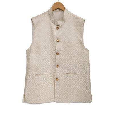 Saville, xl, silk, white