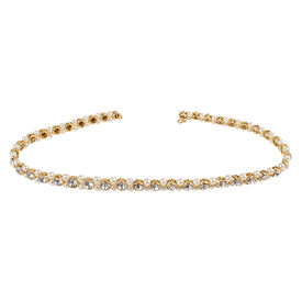 Pink Rose - Complement Collection White Stone Pearl Alloy Charm Waistband For Women, adjuatable, white, alloy
