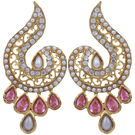 Pink Rose - Complement Collection Pink Gold Alloy Majestic Drops For Women