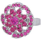 Pink Rose - Complement Collection Pink Alloy Fascinating Ring For Women