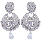 Pink Rose - Complement Collection White Alloy Passion Drops For Women