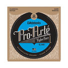 D'Addario Pro Arte EJ46 Classical Guitar Strings Hard Tension Clear Set