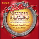 La Bella SN42-B NICKEL PLATED ROUND WOUND, 5-STRING BASS– CUSTOM LIGHT 40-128
