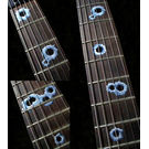 Bullet Holes Fret Markers Inlay Sticker For Guitar