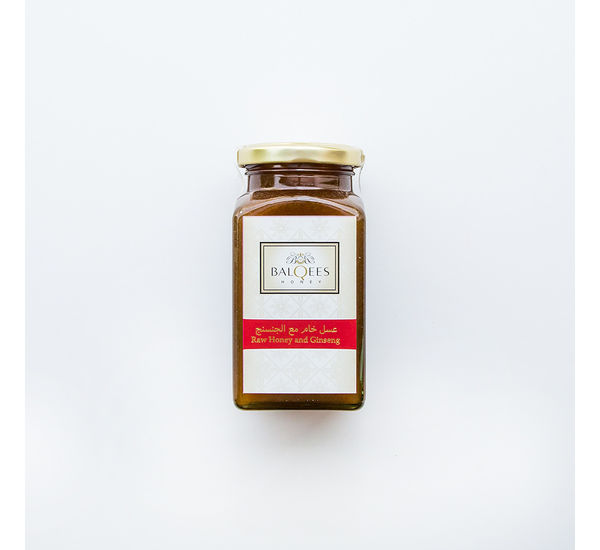Raw Honey & Ginsing Fusion, 290 g