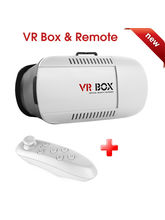Shopizone VR 3D Video Glasses 1st Gen+ Bluetooth Remote for All Smartphones