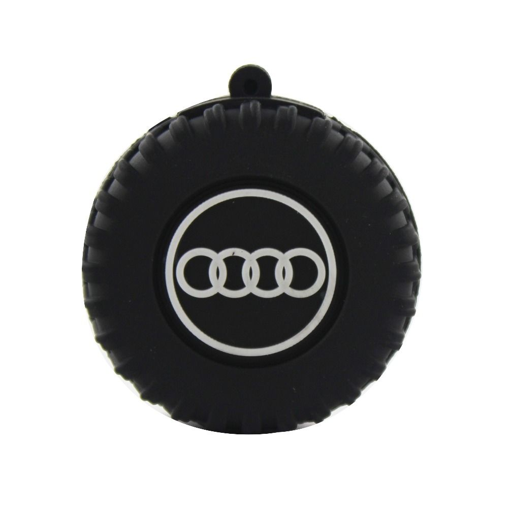 Universal Shopizone Audi Wheel USB 2.0 32 GB Fancy Pendrive, black