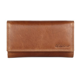 WildHorn Isabella RFID PROTECTED Genuine Leather Wallet for Women stylish| Purse for Women/Girls