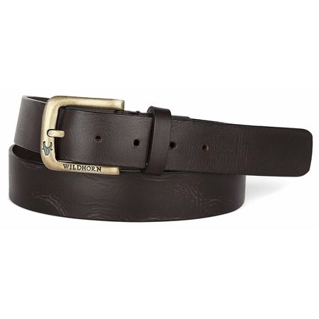 WildHorn Casual Genuine Leather Belt for Men
