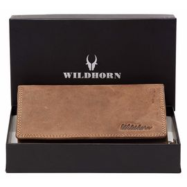 WildHorn Sophia RFID PROTECTED Genuine Leather Wallet for Women stylish| Purse for Women/Girls