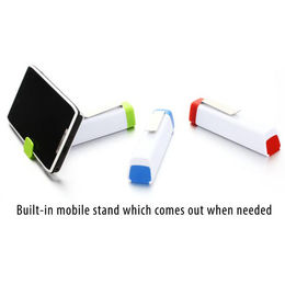 3-in-1 Clip to Pocket Power Bank with Built-in mobile stand, random