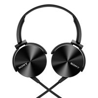Sony MDR XB-450 Extra Bass Foldable Headphones,  black
