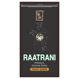 Zed Black RaatRani Insence Stick Zipper Pack 250gm With Agarbatti Stand