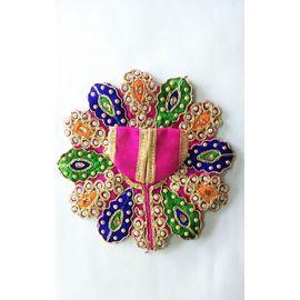 Poshak For Thakurji / Moti And Lace Work Poshak For Laddu Gopal