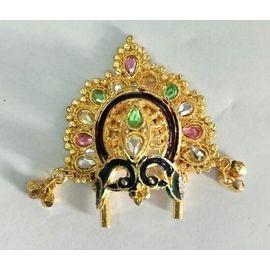 Mor Design Mukut For Laddu Gopal / Shringar For Bal Gopal
