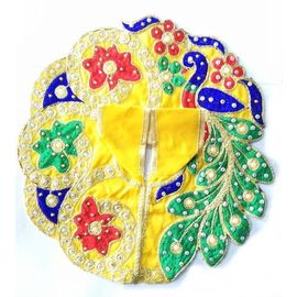 Designer Embroidery Poshak For Laddu Gopal / Bal Gopal Shringar Poshak
