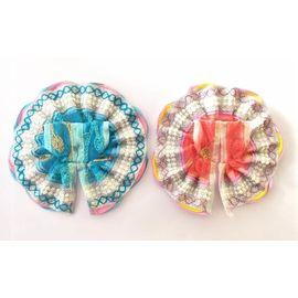 Beautiful Summer Poshak For Laddu Gopal / Embroidery Poshak For Thakurji (1 No) - 2 Pcs