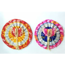 Bandhej Work Poshak For Bal Gopal / Beautiful Poshak - 2 Pcs