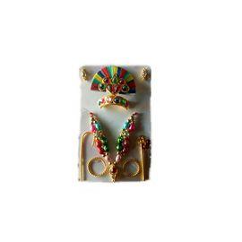 Laddu Gopal Jewellery Set Beautiful Shringar Set