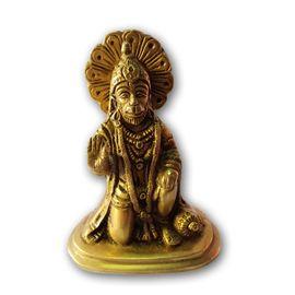 Hanuman Statue / Brass Hanuman / God Idol Lord Hanuman Ji Murti