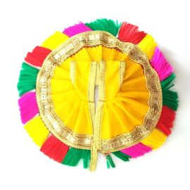 Elegent Simple Poshak / Lace Work Poshak For Bal Gopal (1 No)