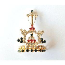 Diamond Work Mukut For God / Mukut For Thakurji / Bal Gopal Mukut