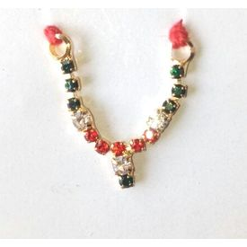Mala For Bal Gopal / Shringar For Laddu Gopal / Simple Neckpiece For Laddu Gopal