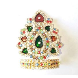 Diamond Work Mukut For Laddu Gopal / Designer Mukut For Thakurji