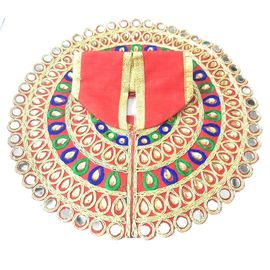 Designer Zari Work Poshak For Laddu Gopal / Poshak For Bal Gopal / Mirrion Work Poshak (4 No)