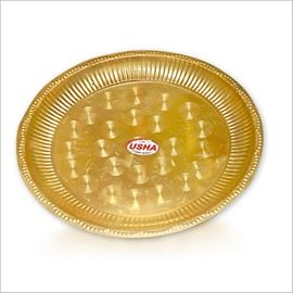 Brass Pooja Plate / Designer Thali / Pooja Thali