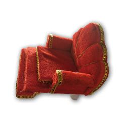 Designer Sofa For God / Velevt Singhasan For Laddu Gopal