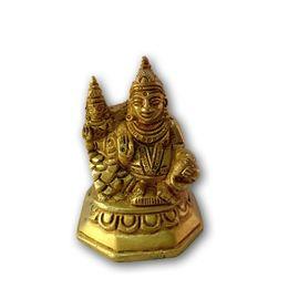 Brass Kuber & Laxmi Statue / Goddess statue / Kuber & Laxmi Murti