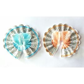 Net Work Poshak For Laddu Gopal / Bal Gopal Poshak (0 No) - 2 Pcs