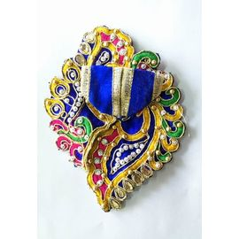Designer Shankh Poshak For Laddu Gopal / Poshak For Thakurji