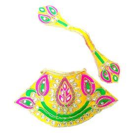 Designer Zari Work Poshak For Durga Mata / Matarani Poshak ( 3 No)