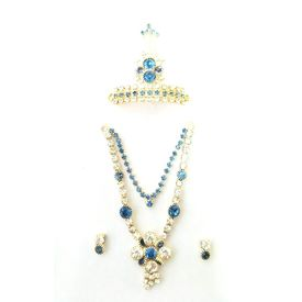 Jewellery Set For Bal Gopal/ Daimond Work Set For Laddu Gopal