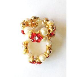 Moti And Diamond Work Bangles For Bal Gopal / Kangan For Laddu Gopal