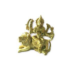 Brass Durga Mata Statue / Elegent Brass Statue Of Matarani / Goddess Statue