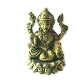 Laxmi Mata Brass Statue / Brass Statue / Decorative Designer Brass Statue