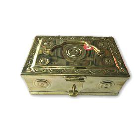 Designer Pooja Peti / Brass Pooja Box