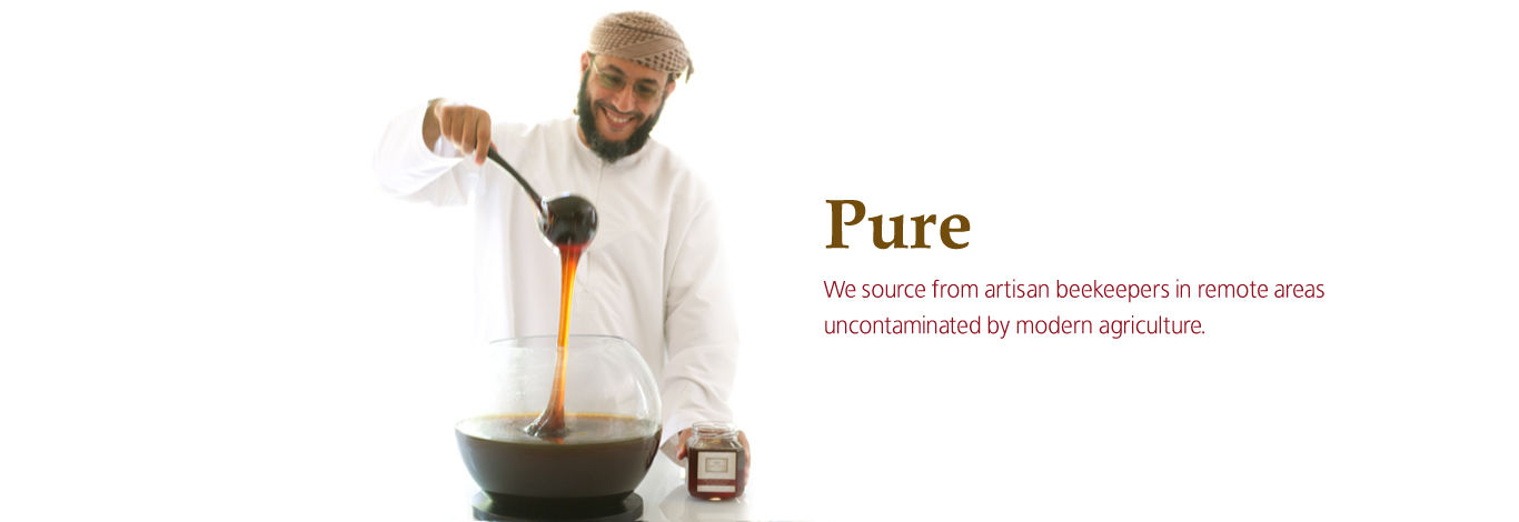 Balqees raw honey - the finest, rarest in the world