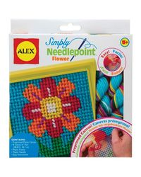 ALEX Toys Craft Simply Needlepoint - Flower Blossom 395FN