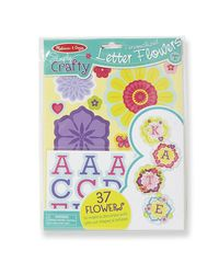 Melissa & Doug Simply Crafty - Personalized Letter Flowers