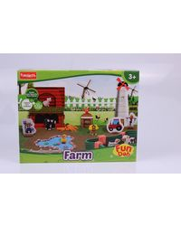 Funskool-Fundoh Farm House, Multi Colour
